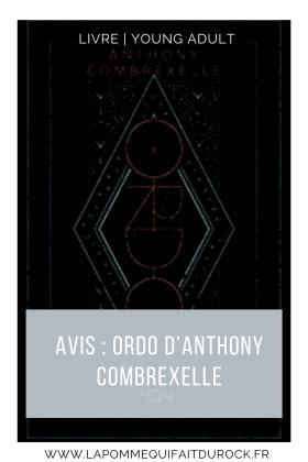 mon avis sur Ordo d'Anthony Combrexelle