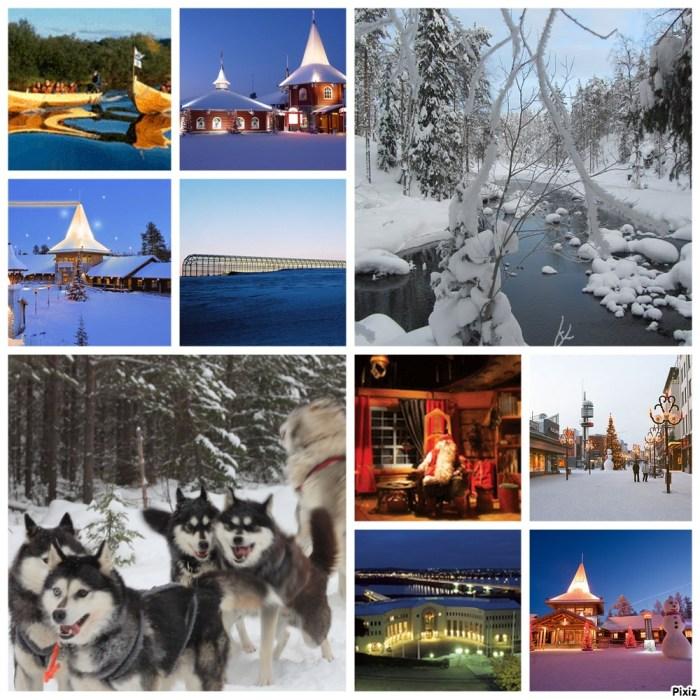 Rovaniemi, capitale de la Laponie Finlandaise