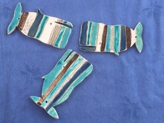 3 Baleines bleues