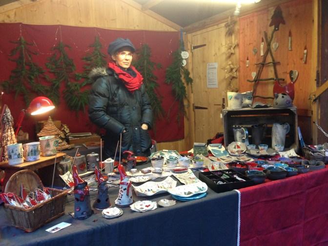 Mon stand au Marché de Noël de Wissembourg