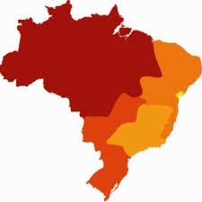 Brasil 5 regioes