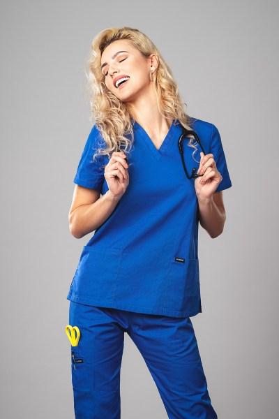 Pyjama medical Azure Face 1