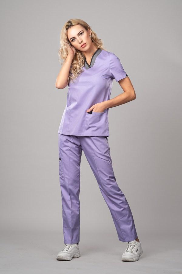 Pyjama medical Lilac Face