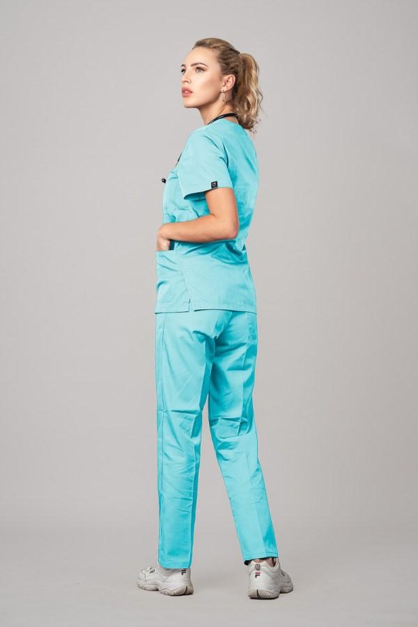 Pyjama medical Miami 3/4 Avant Gauche 3