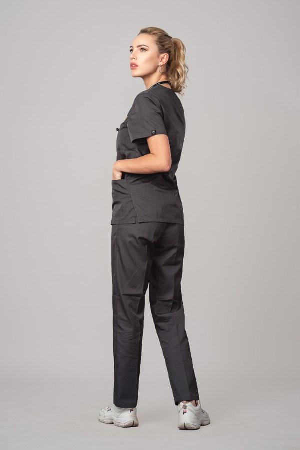 Pyjama medical Iron Gray 3/4 Avant Gauche 2