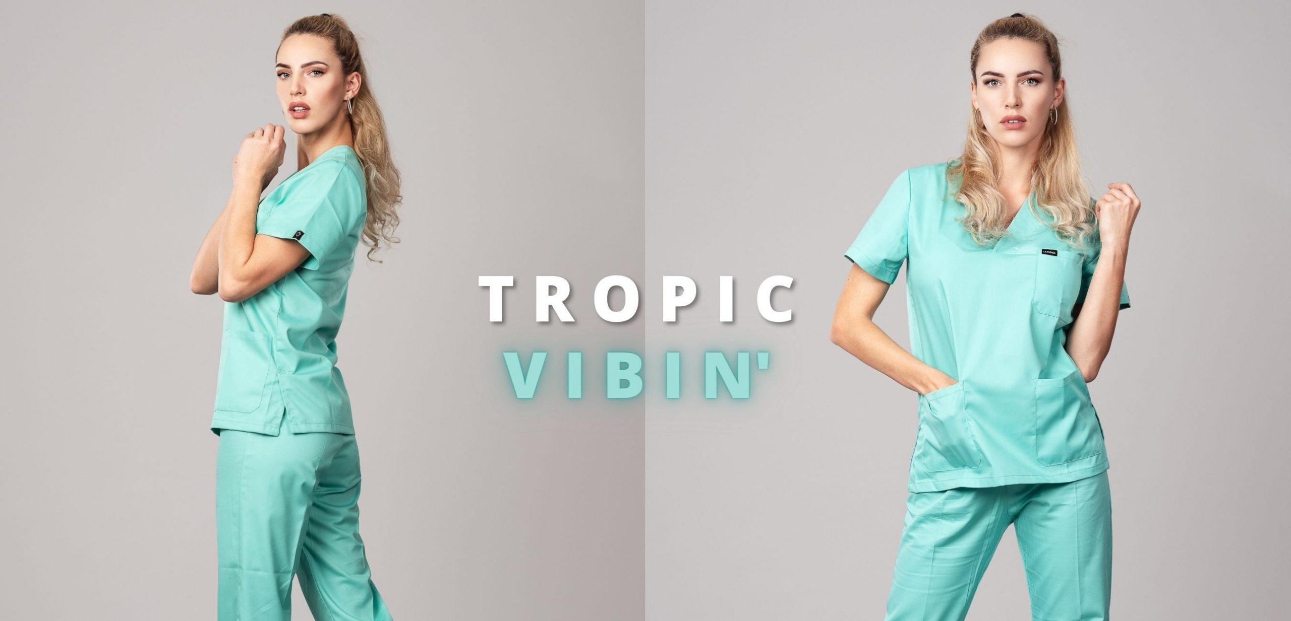 Pyjama medical Caribbean Profil Gauche / Face