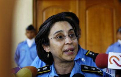 Resultado de imagen para fotoas de Aminta Granera Sacasa; De monja a policia