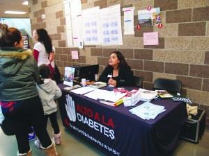 La Asociación Americana de la Diabetes, apoyando a los asistentes con los recursos de su organización.