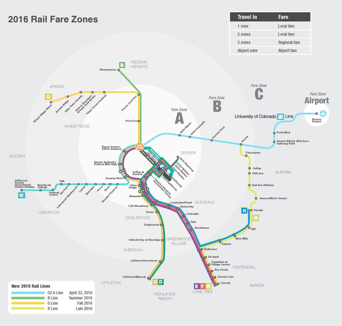 Comenzó a funcionar el nuevo servicio de buses entre Denver y Boulder