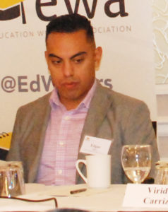Edgar Ríos, Diversity Recruiter, Noble Network of Charter Schools.