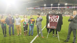 Esdrel Peinado llegó a la cifra mágica de 300 partidos siendo la voz oficial de los Colorado Rapids.