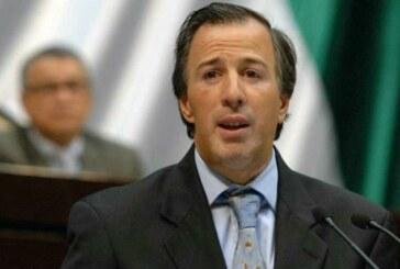 Mexique: démission du ministre des Finances José Antonio Meade !