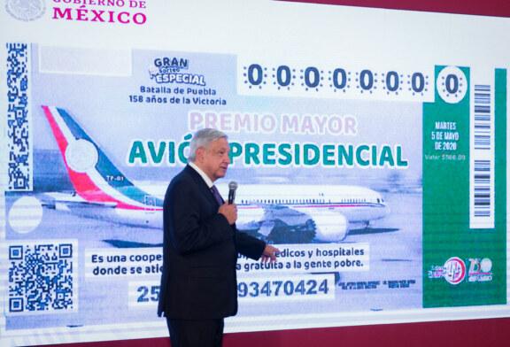 Mexique : l'avion présidentiel à la loterie ne fait pas recette !