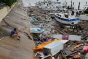 Au Mexique la tempête «Hanna» fait des dégats ! (Video)
