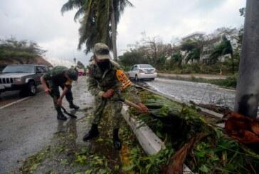 Ouragan Delta au Mexique – De la casse mais pas de victimes ! (Vidéo)