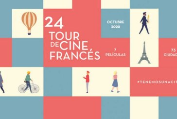 Á partir du 8 octobre, le 24e Tour de Cine Francés au Mexique!