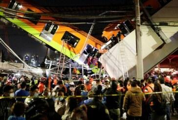 Mexico : Un pont de métro aérien s'effondre faisant au moins 23 morts et 70 blessés !