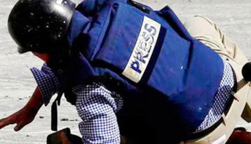 agression journaliste