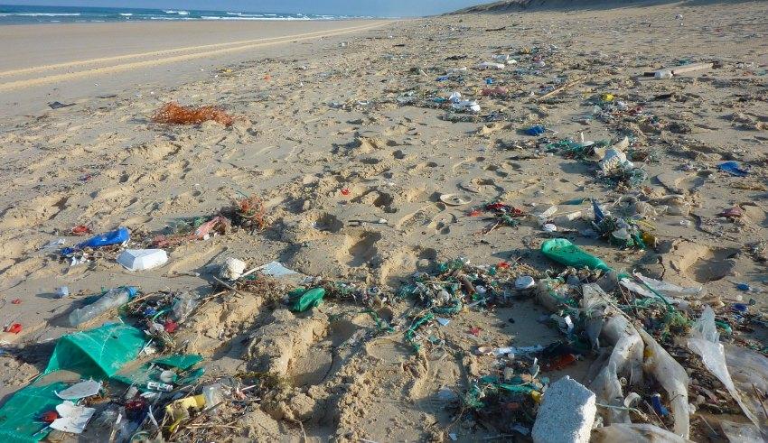 pollution de la mer