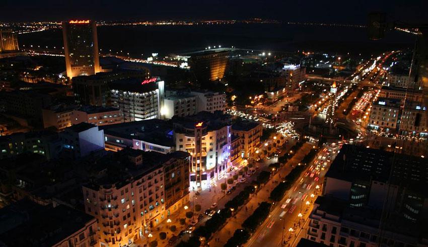 Tunis la nuit