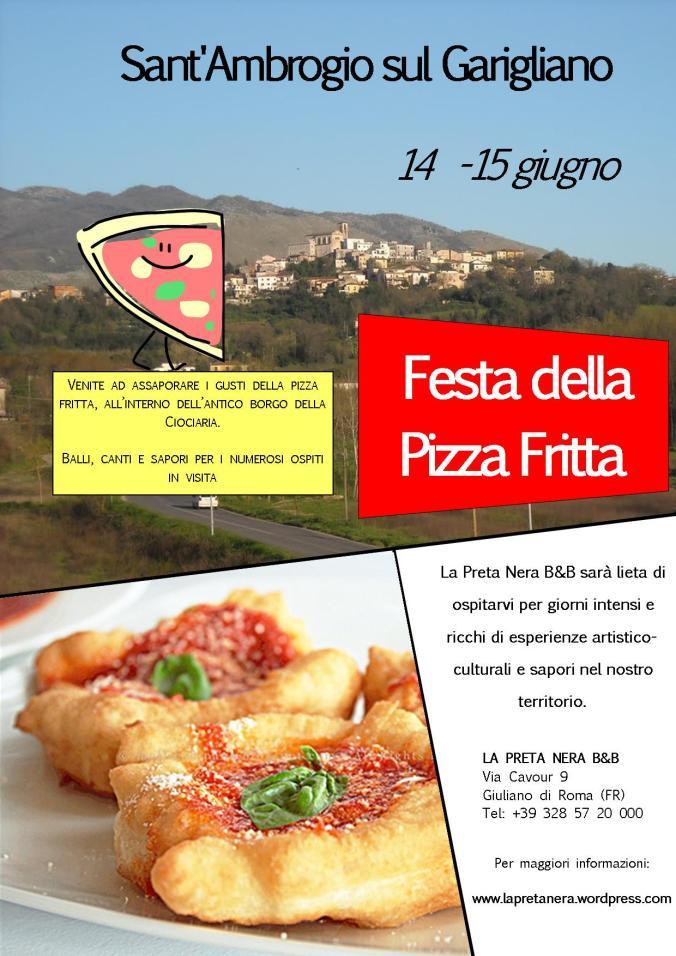 Festa della Pizza fritta