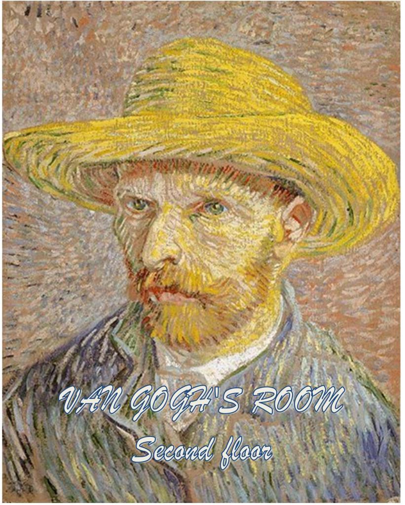 Van Gogh room second floor