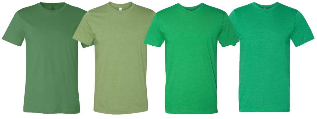 Order Premium Quality Green T Shirts For St Patricks Day Printing