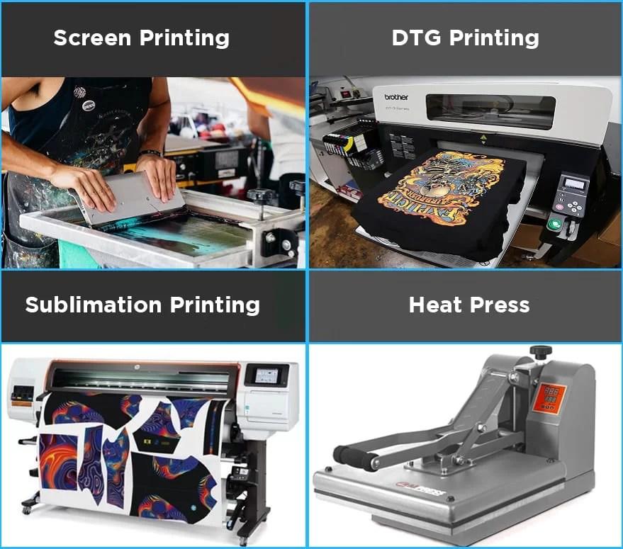 4 Custom T Shirt Printing Ways To Help Grow Your Biz