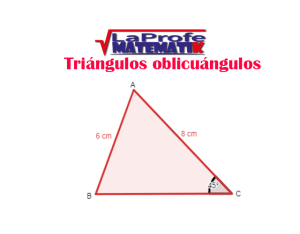 Triángulos-oblicuángulos