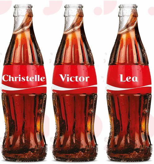 Cocacola personnalisé