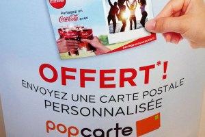coca-cola pop carte