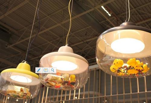 Lampe personnalisée