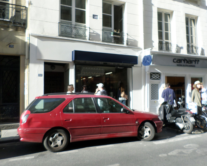 Boutique paris 01 Bleu de Paname