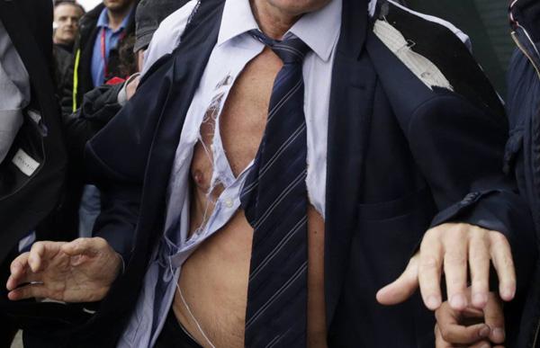 chemise en lambeau