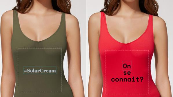 Calzedonia - maillot de bain- personnalisation