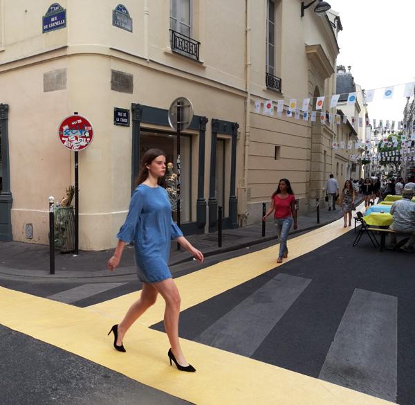 fashionn, la mode défile dans la rue