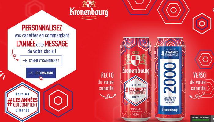 Kronenbourg, les années qui comptent
