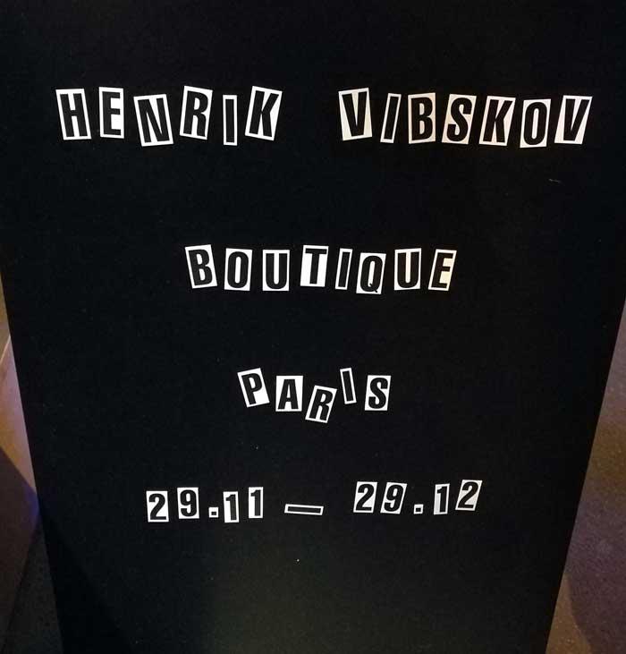 Henrik Vibskov-popupstore