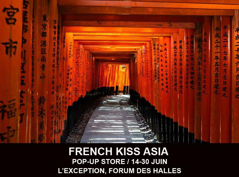 Pop up store France Asie à l'Exception