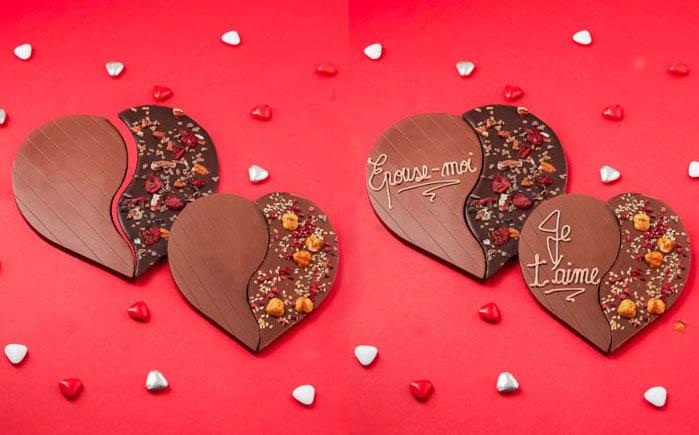 Jeff de Bruges - Saint Valentin - personnalisation