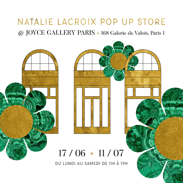 Joyce Gallerie - Pop Up Store - été