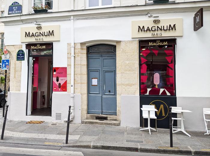 magnum - glace
