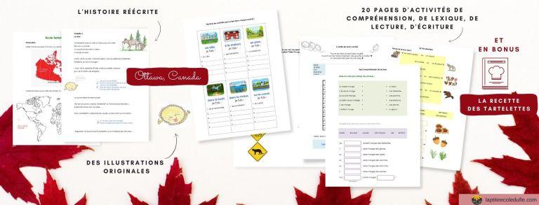 Roule galette Tartelette Canada
