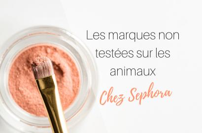 marques cruelty free chez Sephora