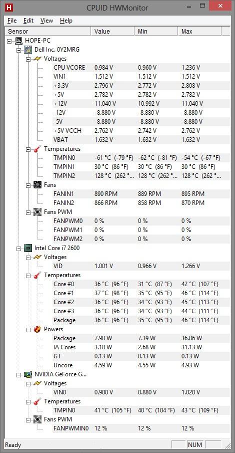 Как посмотреть температуру видеокарты и процессора