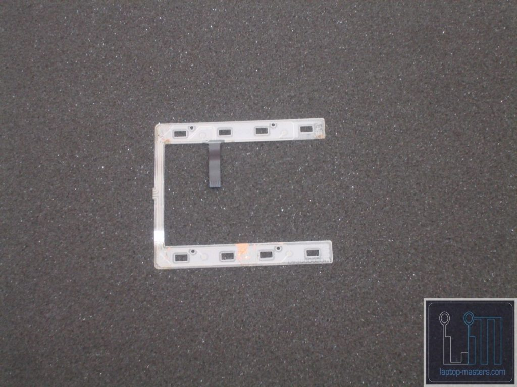 HP EliteBook 8440P Mouse Button Click Membrane DA300004W10 DA300005010
