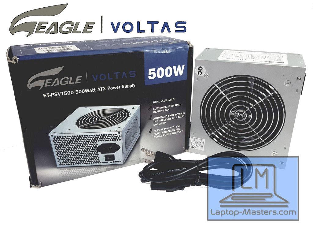 Eagle Voltas 500W Desktop Power Supply ATX12V ET-PSVT500 - Laptop ...
