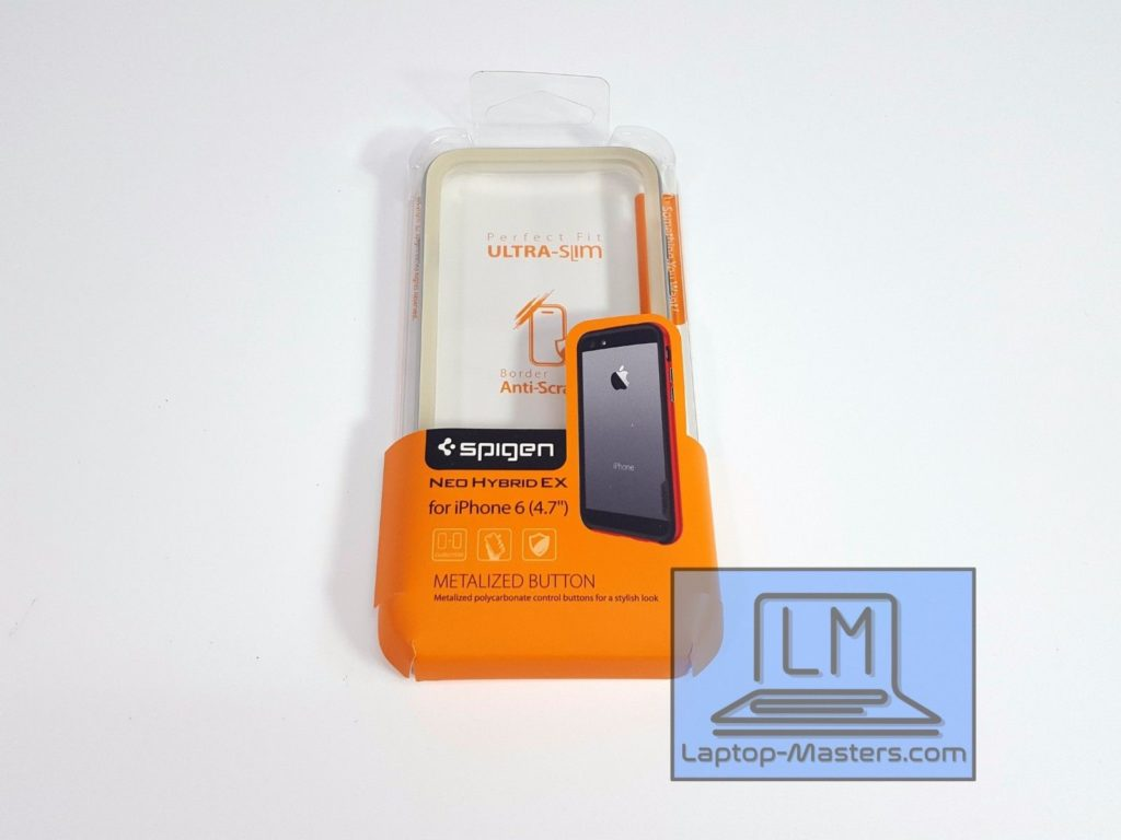 innovative design ad5d1 37483 Spigen Neo Hybrid Ex Metalized Button Case Cover for iPhone 6 Plus GRADE
