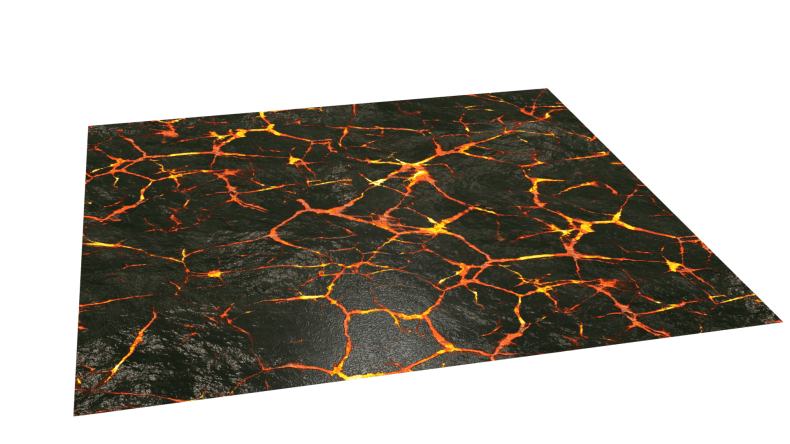 Lava texture obtained from 3d texture.me