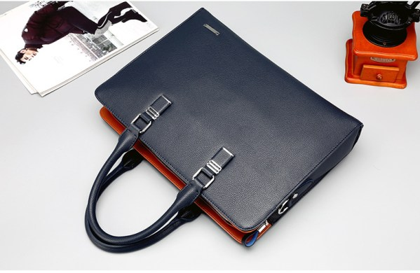 Men and women leather laptop bag 13 14 inches